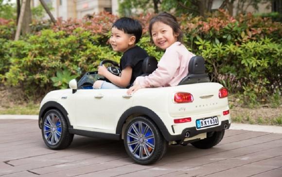 Comprar Coche Eléctrico para Niños Mini 2 Plazas 12V