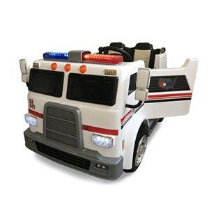 Ambulancia 12V Biplaza Infantil PEKECARS