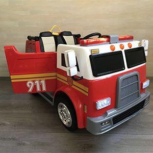 Review Camión de Bomberos 12V Infantil