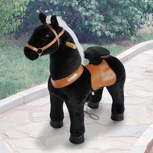 Ponyciclo Negro para Niños Furia